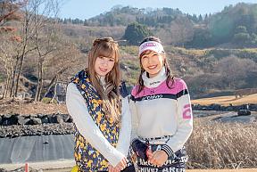左:生田衣梨奈 右:米澤有プロ