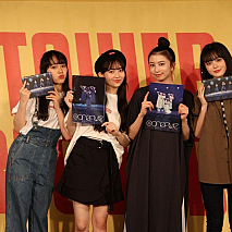 @ onefive (左から)GUMI / MOMO / SOYO / KANO